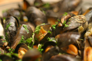 Blurb Cookbook Mussels